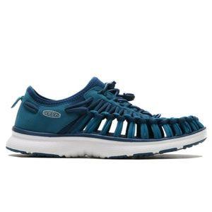 KEEN Uneek O2 Sandal Teal Blue Stretch
